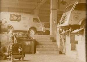 Miko - 200 years of experience in coffee roasting - vans